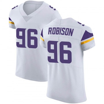 Men's Brian Robison Minnesota Vikings Nike Elite Vapor Untouchable Jersey - White